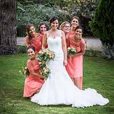 Photo groupe Demoiselle d'honneur avec le mariée